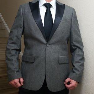 Perry Ellis tuxedo blazer